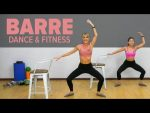 Live BARRE Workout at Home – Dance & Fitness l Joanna Soh
