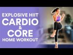 Explosive Cardio & Core at Home  (No Equipment) | Joanna Soh